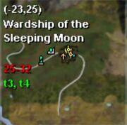 Map thestra wardship of sleeping moon