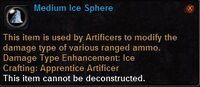 Medium ice sphere