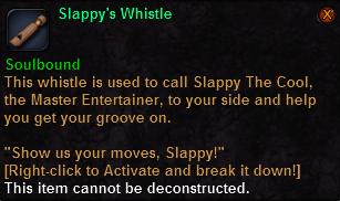 Slappy's Whistle