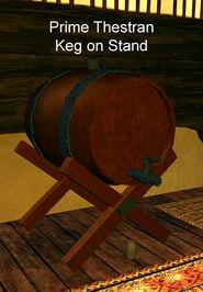 Prime Thestran Keg on Stand