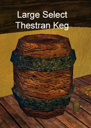 Large Select Thestran Keg