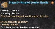 3 Brigand's Mangled Leather Bundle