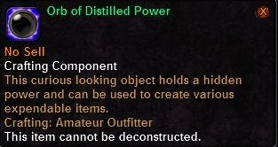 Orb of Distilled Power