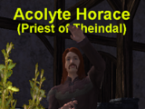 Acolyte Horace
