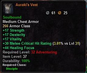 Auraki's Vest