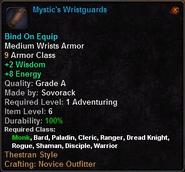 Mystic's Wristguards