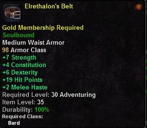 Elrethalon's Belt