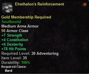 Elrethalon's Reinforcement