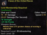 Claws of the United Races