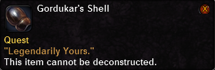 Gordukar's Shell