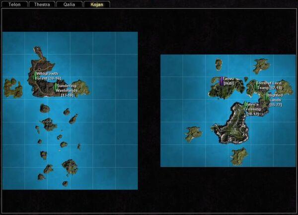 Rifts kojan map