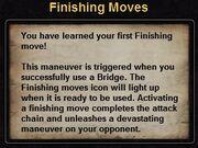 Hint finishing move