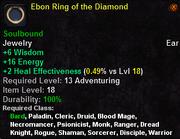 Ebon Ring of the Diamond