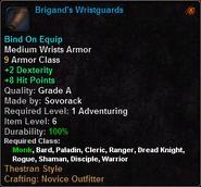 Brigand's Wristguards