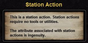 Hint station action