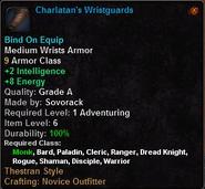Charlatan's Wristguards