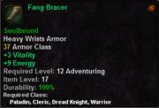 Fang Bracer