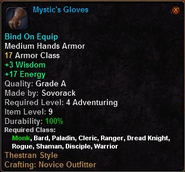 Mystic's Gloves