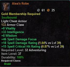 Aiea's Robe