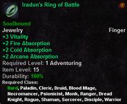 Iradun's Ring of Battle