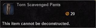 Torn Scavenged Pants