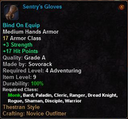 Sentry's Gloves