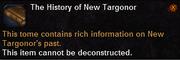 The History of New Targonor
