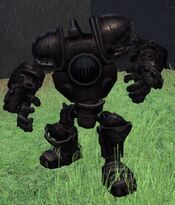 Steam power armored suit