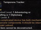 Temporene Tracker
