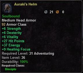 Auraki's Helm