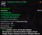 Imperial Charm of War
