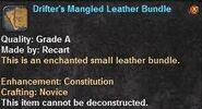 2 Drifter's Mangled Leather Bundle