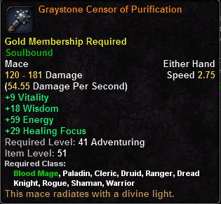 Graystone Censor of Purification