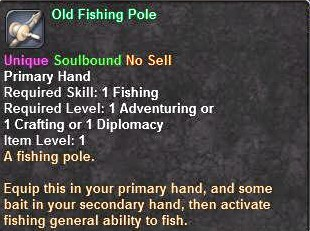 Old Fishing Pole