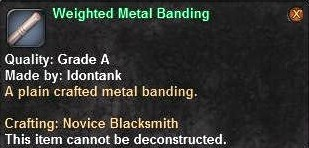 3 Weighted Metal Banding