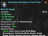 Blemished Necklace of the Priest