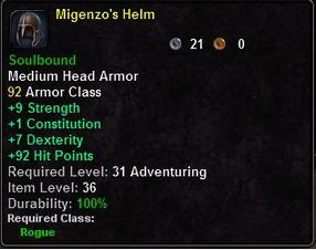 Migenzo's Helm
