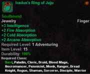 Iradun's Ring of Juju