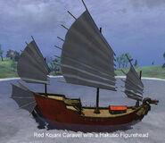 Kojani Red Hakuso Caravel