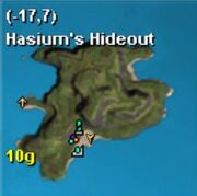 Map kojan hasiums hideout