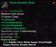 Raian Apostolic Boots