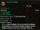 Hermit's Mask
