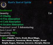 Kuni Stud of Spirits