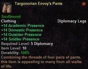 Targonorian envoy's pants