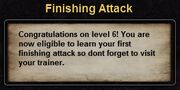 Hint finishing attack
