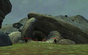 Poisonous Caverns Entrance