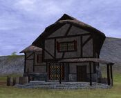 Thestra two story plus with thatch roof