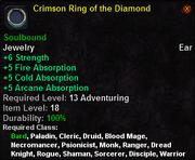 Crimson Ring of the Diamond