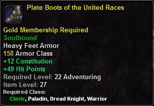 Plate Boots of the United Races