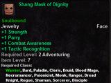 Shang Mask of Dignity